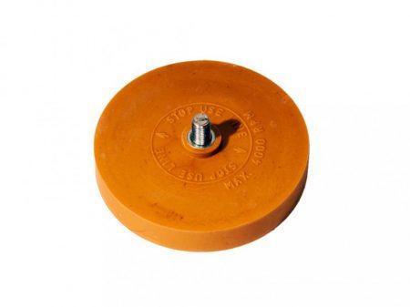 tárcsa pneumatikus csupaszító tisztítóhoz (radírozóhoz)