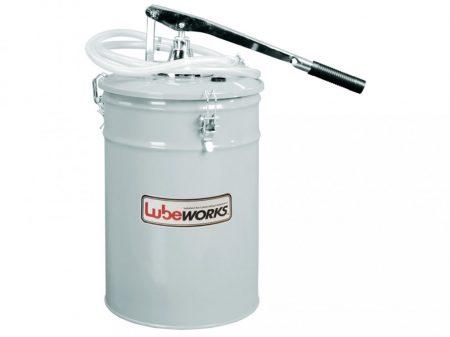 kézi pumpás olajfeltöltő tartály, 16L