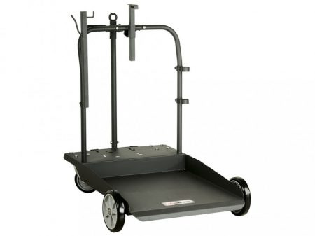 Hordó szállító kocsi csévélődob tartóval, 180-220kg