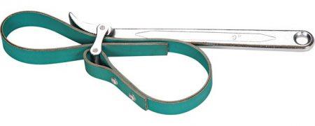 Olajszűrő leszedő kulcs szövet szalaggal, 60-160mm