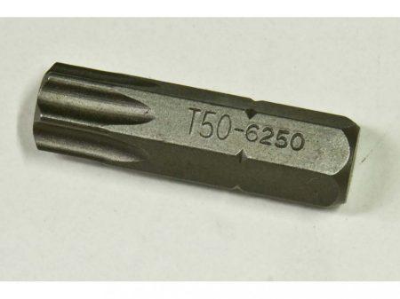 """torx (külső) bit, T-50, 30mm, 5/16"""""""
