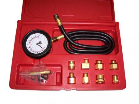 olaj nyomásmérő készlet, 11 darabos