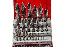 fém csigafúró készlet (Hyper-Step), 1-13mm, 25 darabos