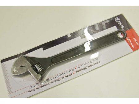 állítható csavarkulcs (villás), 380mm, nyitás: 44mm