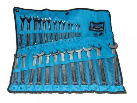 csillag-villás kulcs készlet, csúszásmentes, 6-32mm, 25 darabos