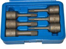 """elnyalt/belső sérült csavar kitekerő dugókulcs készlet, 3/8"""", 6 darabos"""