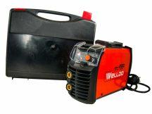 inverteres hegesztő készülék - MMA-DC, IGBT technológiával, VRD védelemmel,  LED digitális kijelzővel, és Tároló dobozzal