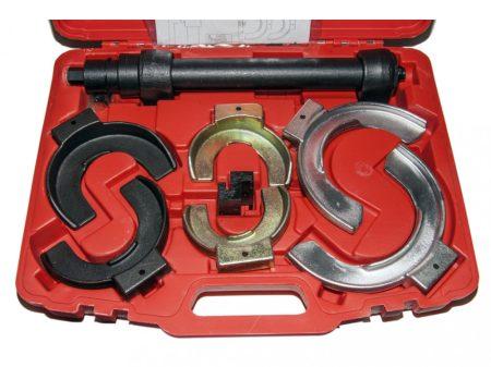rugó összenyomó (tányéros) készlet, McPherson futóműhöz 80-195mm, 8 darabos