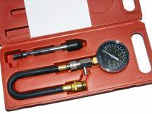 kompresszió tesztelő készlet benzin motorhoz, 3 darabos