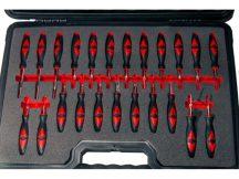 Univerzális gépjármű kábelcsatlakozó szerelő mester készlet, 23 darabos
