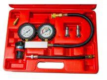 veszteségmérő, benzines
