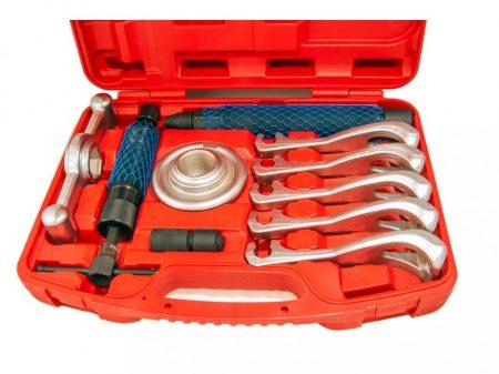 Univerzális hidraulikus kerékagy és lánckerék-fogaskerék lehúzó készlet, 5 körmös, 12t