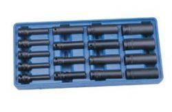 Gépi dugókulcs készlet (légkulcsfej)